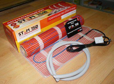 Нагревательный мат STEM ENERGY 150-900-6,0  (6 м2)
