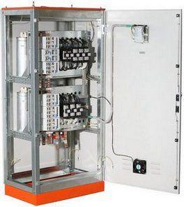 Автоматизированные конденсаторные установки для компенсации реактивной мощности серии АКУ