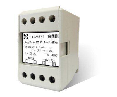 Преобразователи измерительные напряжения переменного тока ЭП8543