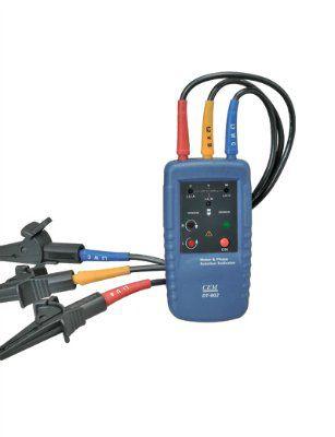 Индикатор порядка обмоток электродвигателя и чередования фаз DT-902