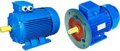 Электродвигатель АДМ1П63 для привода осевых вентиляторов с глухим щитом