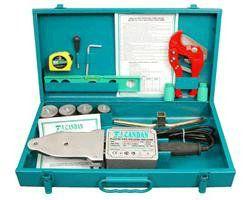 Сварочный набор для полипропиленовых труб в чемодане с комплектом инструментов CM-03 SET (EXTRA) Турция