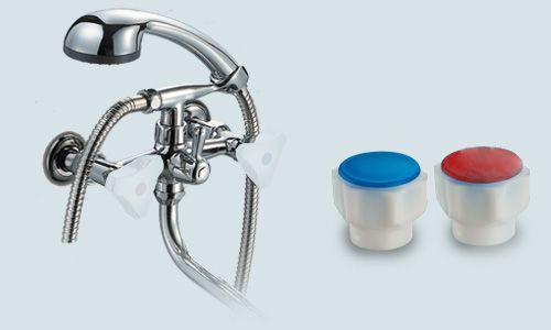 Смесители для ванной (смесители в ванную с душем) ПСМ - ПрофСан -156-К77