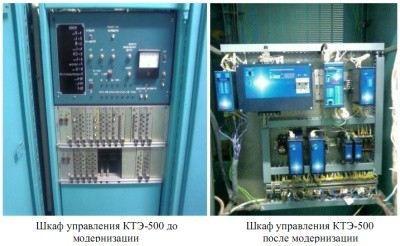 Модернизация электроприводов и преобразователей