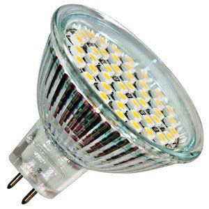 Лампа светодиодная LB-24 3W 230V G5.3 6400K MR16, FERON