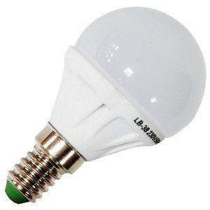 Лампа светодиодная LB-38 5W 230V Е14 2700K, FERON