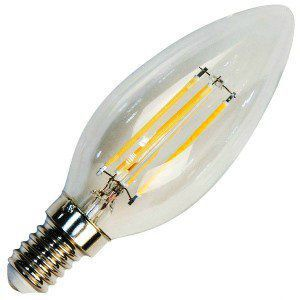 Лампа светодиодная LB-58 5W 230V Е14 2700K FILAMENT, FERON