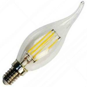 Лампа светодиодная LB-59 5W 230V Е14 4000K FILAMENT, FERON