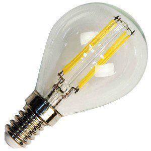 Лампа светодиодная LB-61 5W 230V Е14 4000K FILAMENT, FERON