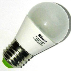 Лампа светодиодная LB-95 7W 230V Е27 4000K, FERON
