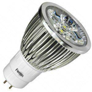 Лампа светодиодная LB-108 5W 230V G5.3 6400K MR16, FERON