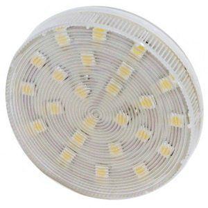 Лампа светодиодная LB-153 5W 230V GX53 4000K, FERON