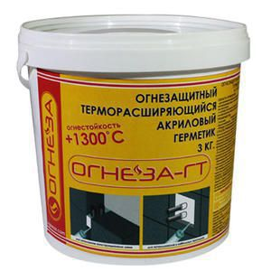 Огнезащитный терморасширяющийся герметик