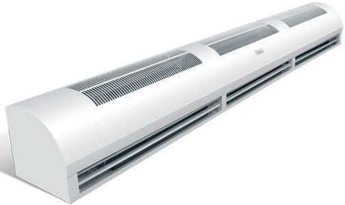 Тепловая завеса Ballu BHC-24 ТR, мощность 0/18/24 кВт, высота установки до 4м, расход воздуха 3200 м3ч,скорость потока 10 мс, напр.380В, вес 48кг