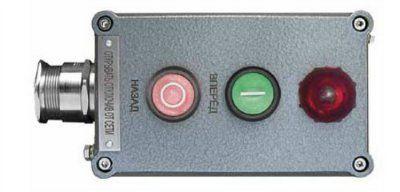 Посты управления взрывозащищенные кнопочные типа ПВК с индикацией 2ExedIICТ6