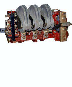 Контактор КТ-6012Б У3, 100А, 220В, 2 полюса электромагнитный