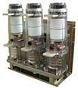 ВВУ вакуумный выключатель стационарного исполнения, напряжение 10кВ, рабочий ток 1600А, ток отключения 20кА, привод пружинно-моторный