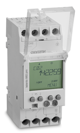 Реле времени/таймер TALENTO 881 PRO 24VAC/DC 110-230VAC Graesslin (Таймеры цифровые)