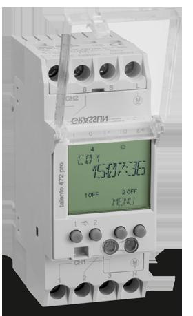 Реле времени/таймер TALENTO 472 PRO 24VAC/DC 110-230VAC Graesslin (Таймеры цифровые)