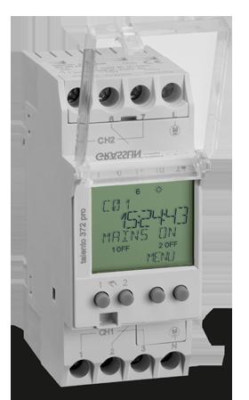Реле времени/таймер TALENTO 372 PRO 110-230VAC Graesslin (Таймеры цифровые)
