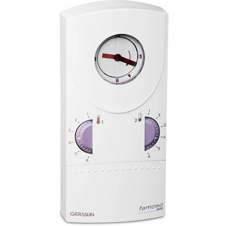 Термостат FAMOSO 555 230VAC/50-60Hz Graesslin (Хронотермостаты)