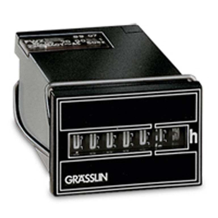 Счётчик часов TAXXO 612 220-240VAC/50Hz Graesslin (Счётчики времени наработки (мото-часов))