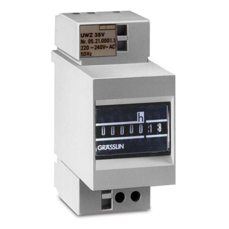 Счётчик часов TAXXO 403 220-240VAC/50Hz Graesslin (Счётчики времени наработки (мото-часов))