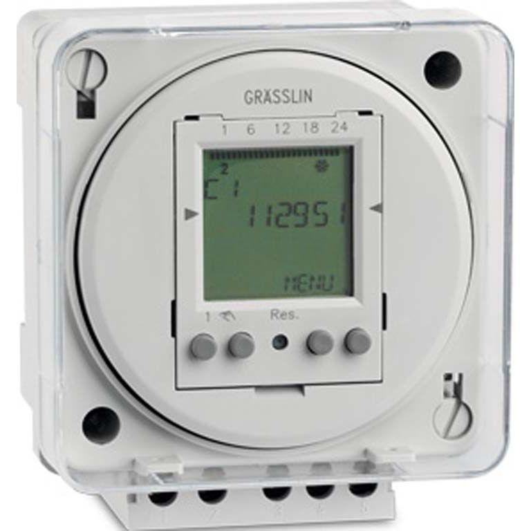 Реле времени/таймер TACTIC 572.1 plus 24VAC Graesslin (Таймеры цифровые)