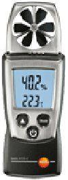 Термоанемометр testo 410-2 одновременно измеряет скорость, температуру и влажность воздушного потока.