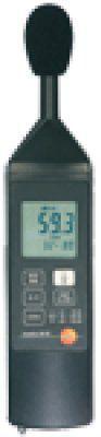 Шумомер testo 815 портативный прибор для измерения уровня звука.