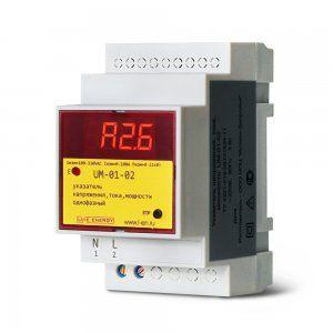 Указатель напряжения, тока и мощности UM-01-02