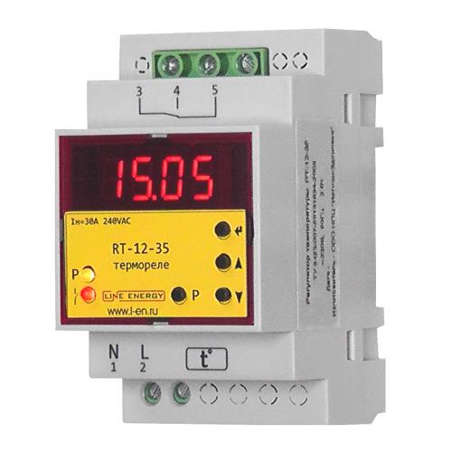 Реле температуры (термореле) RT-12-35