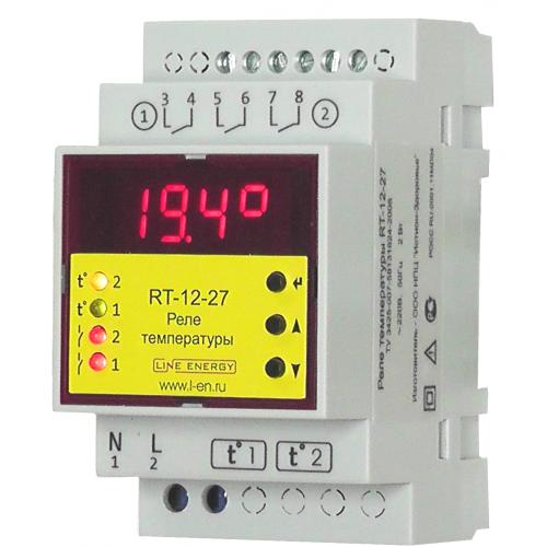 Термореле RT-12-27 для жидкотопливных котлов отопления