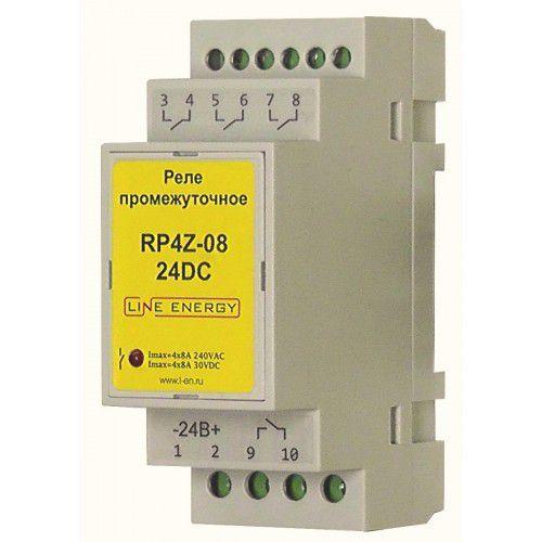 Промежуточное реле RP4Z-08-24DC