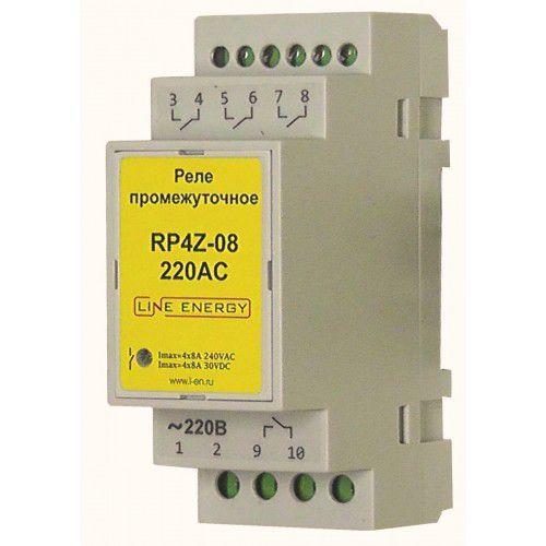 Промежуточное реле RP4Z-08-220AC