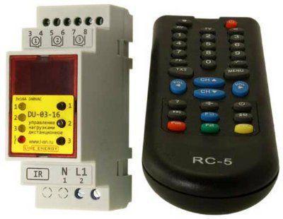Дистанционное управление нагрузками RDU-03-16