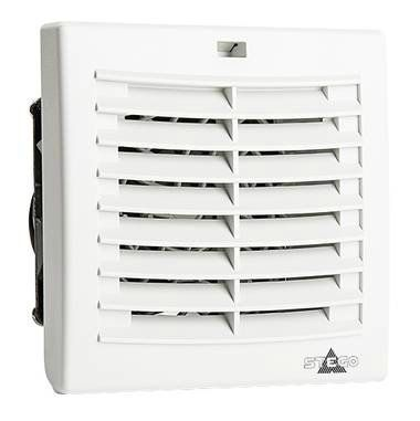 _Комплект. Вентилятор с фильтром + Решетка,. 92 х 92 мм, 24 м3/час, IP54, 230VAC