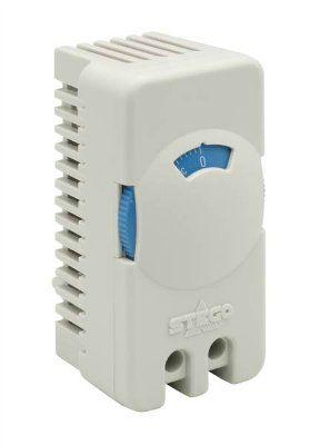 ДЕШЕВО.Термостат для вентилятора. STEGO, серия STS 011, арт. 01116.0-00-9020 (NO, 0-60 C). Упаковка 20 штук. для вентиляторов