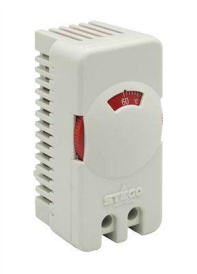 ДЕШЕВО.Термостат для нагревателя. STEGO, серия STO 011, арт.01115.0-00-9020 (NC, 0-60 C). Упаковка 20 штук. для нагревателей