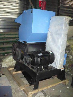 Роторная китайская дробилка HSS-A (XFS) для тонких пластмасс до 10 мм