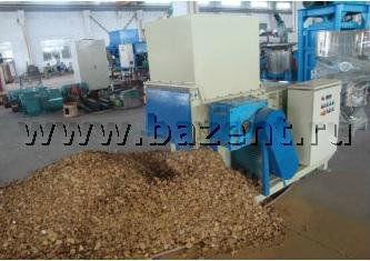 Китайский однороторный шредер для дерева WT