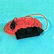 Удлинитель Ном. ток 6А, 220В Штепсельное гнездо без заземления. Цвет провода - оранжевый черный