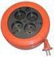 Удлинитель УХ10-104(ПВС 2х0,75) Рулетка
