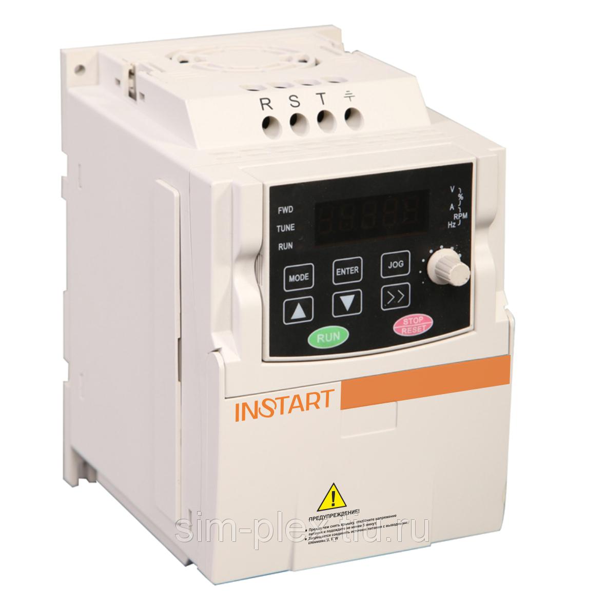 Частотный преобразователь INSTART MCI-G0.75-4B