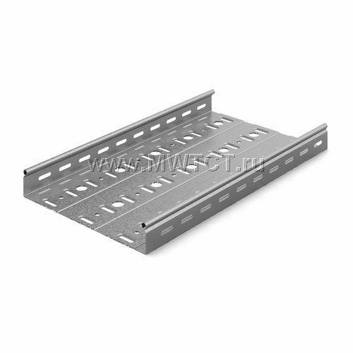 ЛПМЗТ-300пр OSTEC Металлический перфорированный лоток трубчатый 300*50*2500