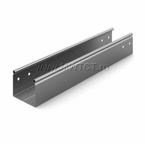 ЛНМЗТ-100х80пр OSTEC Металлический неперфорированный лоток трубчатый 100*80*2500