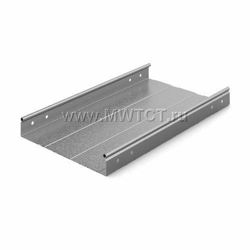 ЛНМЗТ-300пр OSTEC Металлический неперфорированный лоток трубчатый 300*50*2500