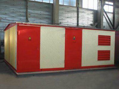 Комплектная трансформаторная подстанция в железобетонной оболочке, типа КТПБ, 2КТПБ, мощностью 25-6300 кВА, напряжением 6(10) кВ