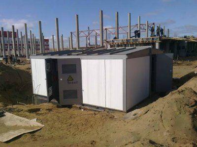 Комплектная трансформаторная подстанция утепленного типа КТПУ, 2КТПУ, мощностью 25-6300 кВА, напряжением 6(10) кВ