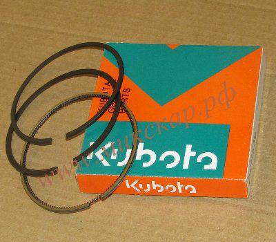 Поршневые кольца на двигатель Kubota V2607